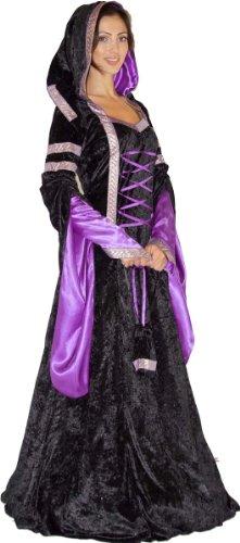 Maylynn 12202-S-M – Mittelalter Kostüm Melina Burgfräulein, 2-teilig, Größe S/M - 2