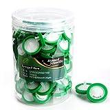 Biomed Scientific - Filtro per siringa PES (polietersulfone), diametro 25 mm, dimensione dei pori 0,45 um, non sterile, 100 pezzi