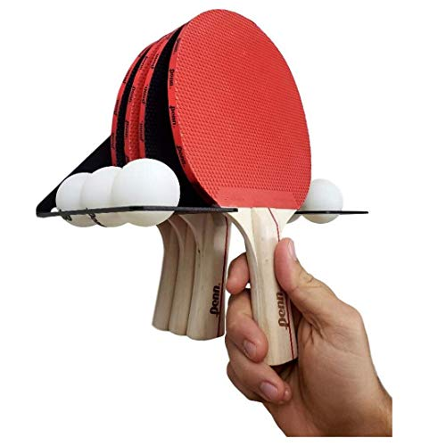 Best Deals! IRON AMERICAN Elite Ping Pong & Table Tennis Storage Rack/Made in USA Wall Mount Steel H...