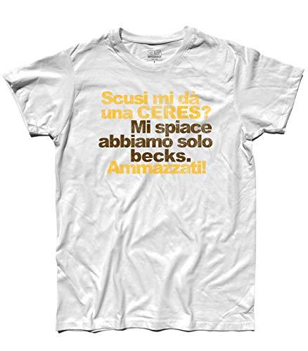 3stylershop heren T-shirt Scusi Mi geeft een ceres? - Ceres vs Becks.