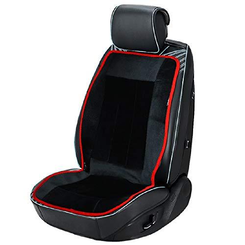 Covok Stoelbekleding verwarmd voor auto/kantoor, bank (55°-60°), winterbeschermer, intelligente multifunctionele tafel, voor autostoel, verwarmd 105 * 50CM zwart.