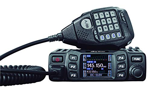 Anytone AT-778UV - Emisor-Receptor móvil de Doble Banda (VHF/UHF, 144-146/430-440 MHz) Color Negro