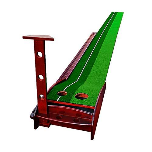 QIZIFAFA Juego De Golf para Exteriores, Retorno Automático De La Bola, Colchoneta De Golf con Ajuste De Pendiente, Mini Entrenador De Golf para Practicar Putting Green, para Uso Doméstico (3M)