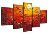 Visario Leinwandbilder 5506 Bild auf Leinwand, 160 cm, 5