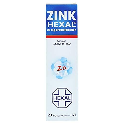 ZINK HEXAL Brausetabletten 20 St Brausetabletten 20 St Brausetabletten