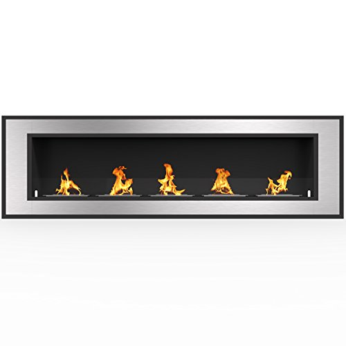 Review Of Regal Flame Cynergy 72 Ventless Built in Recessed Bio Ethanol Wall Mounted Fireplace