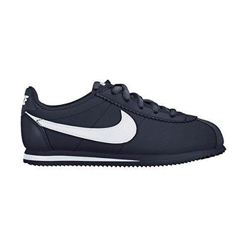 Nike Cortez Nylon (PS), Chaussures de Running garçon, Azul (Obsidian/White), 35 EU