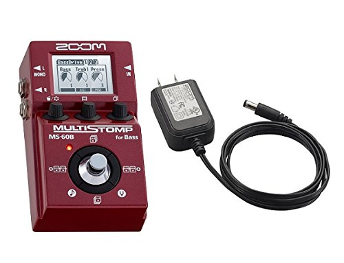 ZOOM MS-60B MULTI STOMP for Bass + ACアダプター「AD-16」セット