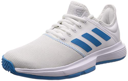 adidas Performance Damen Tennisschuhe GameCourt Weiss/blau (902) 391/3