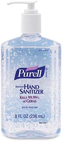 Gojo Industries Purell Instant Max 76% OFF Hand Sanitizer Oz Finally resale start Pump - Bottle 8