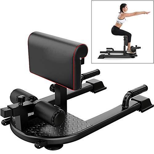 Yajun Sissy Squat Kniebeugen Trainer Multifunktion Push-up Beinkraft Bauch Gesäßtrainer Abnehmen Gewichtsrollen Roller Home Fitness