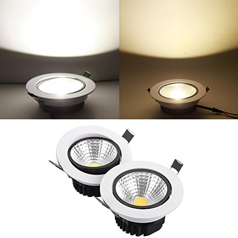 HTAIYN 15W nicht dimmbare COB-LED-Deckeneinbauleuchte für Downlight popular (Farbe   Cool Weiß) B07MYJRJ8H  | Spielzeugwelt, glücklich und grenzenlos