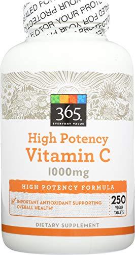 365 Everyday Value, Vitamin C 1000mg, 250 ct