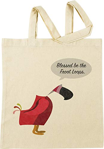 Vendax Blessed be The Froot Loops - Handmaids Tale Beige Beige Sac à Provisions Réutilisable