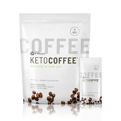 Keto Coffee | Cappuccino minceur | Café Brûle-graisse | Coupe-faim | ItWorks!