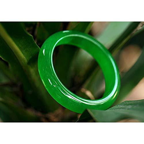 Natural jasper bracelet full of green jade bracelet,64MM