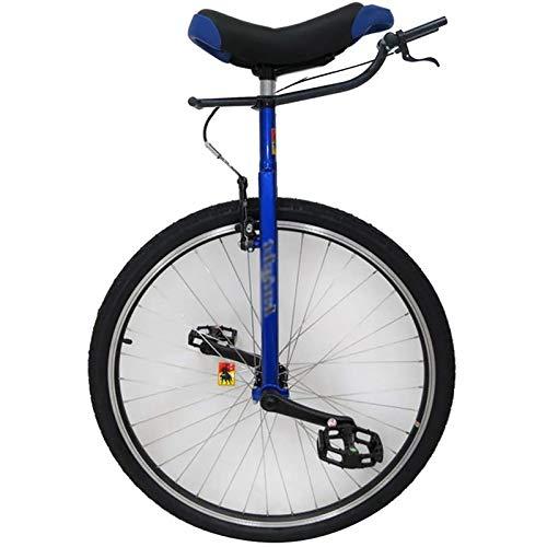 SSZY Monociclo Monociclo Extra Grande de 28 Pulgadas para Adultos/Adolescentes Masculinos Grandes con Freno, Deporte Al Aire Libre, Ciclismo de Equilibrio de Alta Resistencia para Principiantes