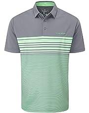 Stuburt Sport Tech Breathable Wicking Golf T-Shirt Camisa de Polo Hombre