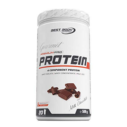 Best Body Nutrition Gourmet Premium Pro Protein Milk Chocolate Dose, 500 g