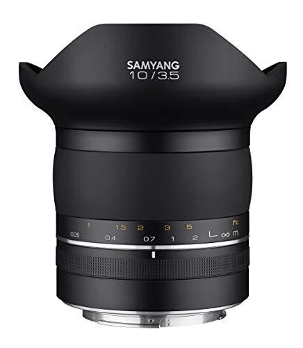 Samyang sa8003 Objetivo XP 10 mm, f3.5 Canon EF.