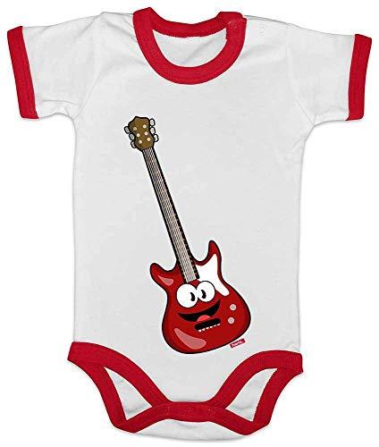 Hariz Baby Body Ringer guitarra eléctrica sonriente, instrumento para niños, divertido Plus...