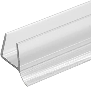 Prime-Line Products M 6264-1 Glass Door Bottom Seal, Clear, 3/8-Inch