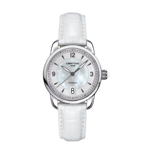 Certina Damen-Armbanduhr XS Analog Quarz Edelstahl C025.210.16.117.00