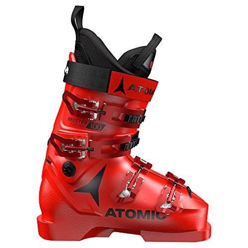 Atomic Redster Club Sport 100 LC, Chaussures de Ski Mixte Adulte - Rouge - Rouge - Noir, 37.5 EU EU