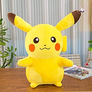 QZ Smile Pikachu Animal Dolls Cute Plush Toys Soft PP Cotton Kids Children Gift,Variation:30cm