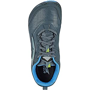 ALTRA AL0A4VQE Men's Lone Peak 5 Trail Running Shoe, Blue/Lime - 11.5 M US