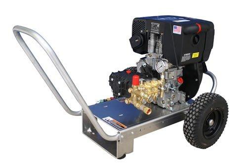 diesel powered pressure washers Cam Spray 3000DX Cart Mount Diesel Powered Cold Water Pressure Washer, 3000 psi, 50' Hose