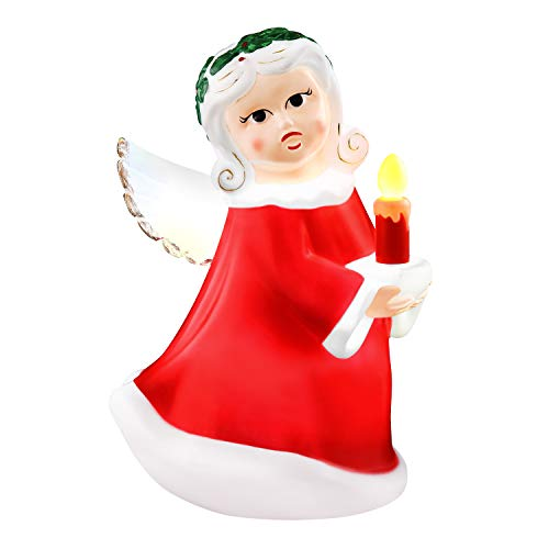 Mr. Christmas 24' Blow Mold Icon - Angel Christmas Décor, Red