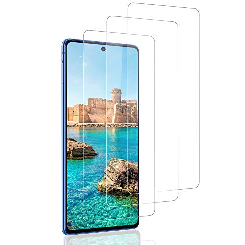 SNUNGPHIR 3 Piezas Protector de Pantalla para Samsung Galaxy S10 Lite/Note 10 Lite, [Sin Burbujas] [Anti-Arañazos] [Alta Definicion] Cristal Templado Premium para Samsung Galaxy S10 Lite/Note 10 Lite