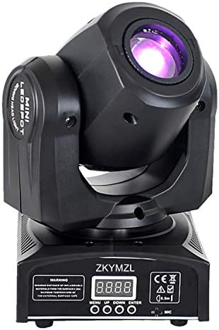 Moving Head Light 30W DJ Lighting Stage Lights with 15 Colors by Sound Activated and DMX 512 product image
