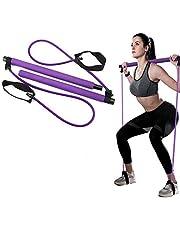 Draagbare Pilates Bar Kit,Benen Butt Arms Schouder Krachttraining, Oefenbanden voor Fysieke Therapie, Van toepassing zijn Yoga, Stretch, Schulp, Twistin