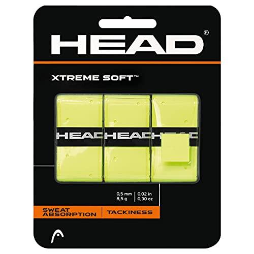 Head Xtremesoft Pack de Overgrip, Unisex Adulto, Amarillo, S