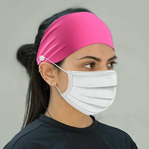 Sports Headband Sweat-Absorbent Double-Sided Quick-Drying Adjustable Face Guard Anti Le Yoga Fitness Running Cycling Headband