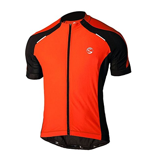 douches Pass pour Homme Cyclone Jersey XL Fire Cracker Red