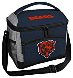 Rawlings NFL Soft Sided Insulated Cooler Bag/Lunch Box, 12-Can Capacity, Chicago Bears