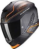 Scorpion Motorradhelm EXO-1400 AIR Galaxy Matt Orange, Schwarz/Orange, L