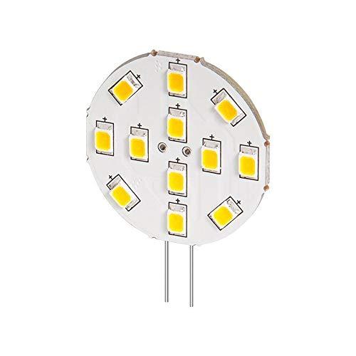 Goobay 30588 LED Strahler, 2 W, Sockel G4, ersetzt 20 W, Warm-Weiß, Nicht Dimmbar