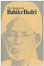 The Memoirs of Babikr Bedri: