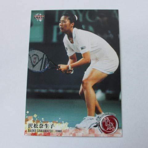 BBM2019平成■レギュラーカード■022/沢松奈生子/テニス ≪BBMスポーツトレーディングカード平成≫