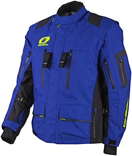 O'Neal Herren Motorrad Jacke Baja Racing, Blau, M, 1104