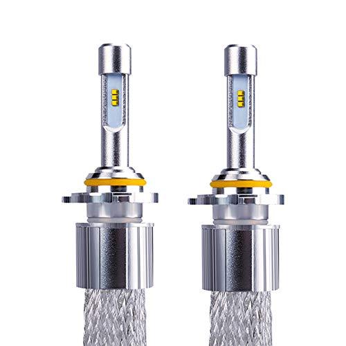 9005 HB3 9006 HB4 LED H4 H7 Coche LED Fightlights H1 H3 H8 H9 H1 H11 Bombilla LED 80W 9600LM Bombilla de automóvil 6000K 12V Luz de Niebla, Enchufe y Juego, sin Errores