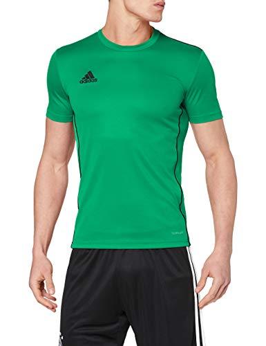 Adidas Core 18 Training Jsy, Camiseta Hombre Verde (Bold Green/Black), XL