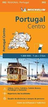 Mapa Regional Portugal Centro  Portuguese Edition