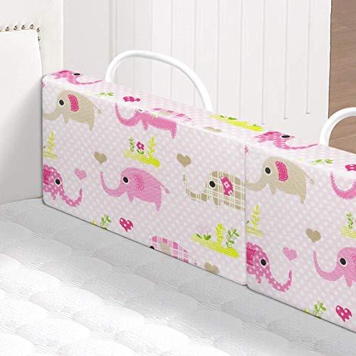 Rieles de cama de esponja de alta elasticidad para niños pequeños, riel de cama para niños pequeños, protector de riel para cama de bebé, parachoques de cama portátiles de viaje para niños pequeños, r