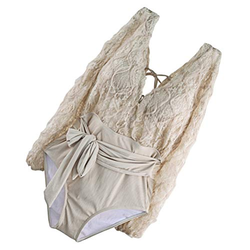 BESPORTBLE Mulheres Swimsuit One- Piece Swimwear Maiô Lady Beach Wear