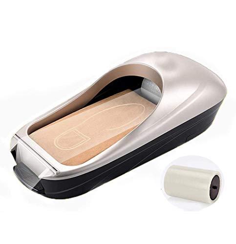 STTC Dispensador De Cubierta De Zapatos Automático, Cubrezapatos Desechables para El Hogar, Oficina, Zapatos Cover Dispensador, La...